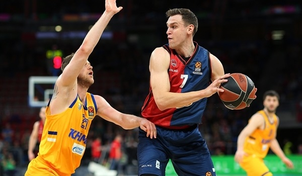 RS Round 25 report: Record night lifts Baskonia over Khimki