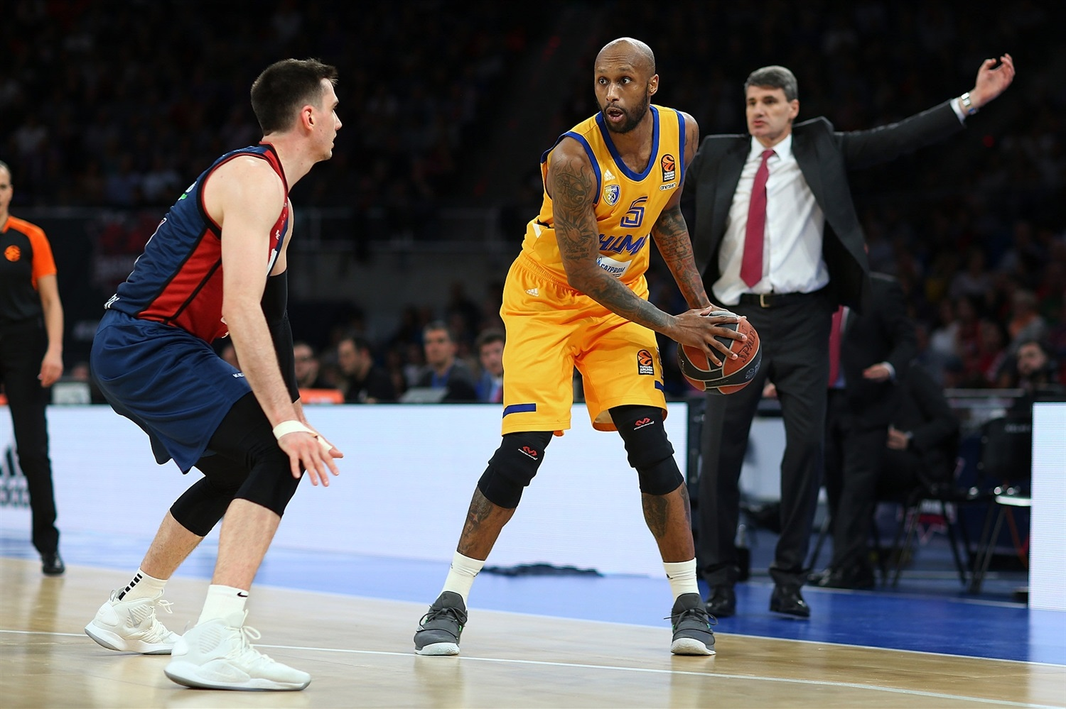 Tony Crocker - Khimki Moscow Region - EB18