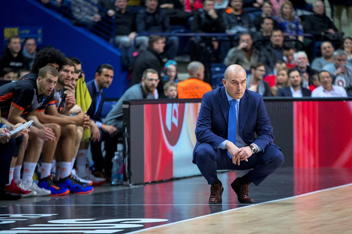 Jaume Ponsarnau - Valencia Basket (photo Rytas) - EC18
