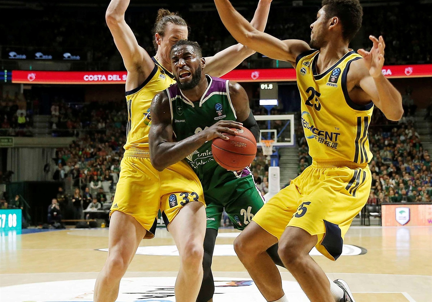 Mathias Lessort - Unicaja Malaga (photo Mariano Pozo - Unicaja) - EC18