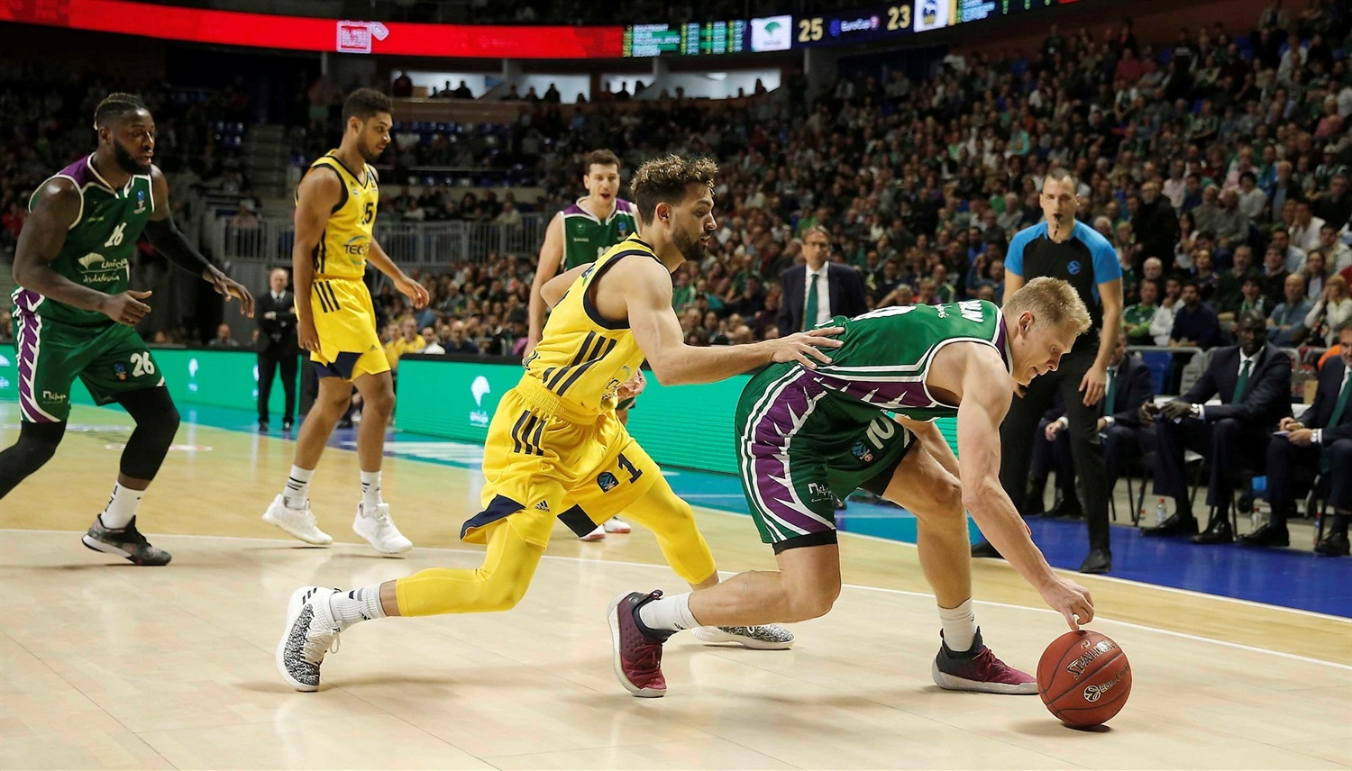 Sasu Salin - Unicaja Malaga (photo Mariano Pozo - Unicaja) - EC18