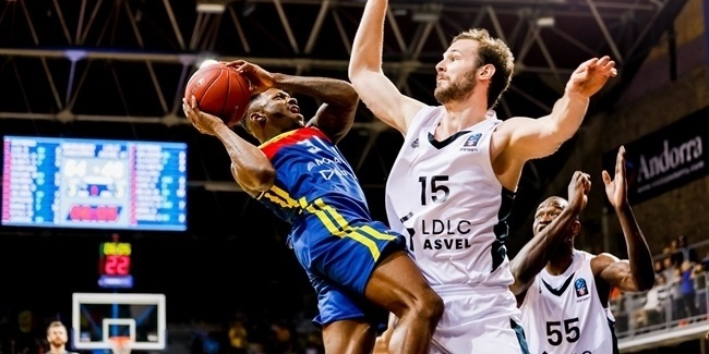 7DAYS EuroCup, Quarterfinals Game 2: MoraBanc Andorra vs. LDLC ASVEL Villeurbanne