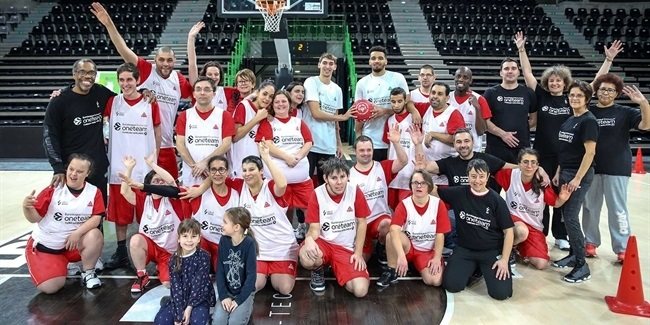 ASVEL completes successful One Team program
