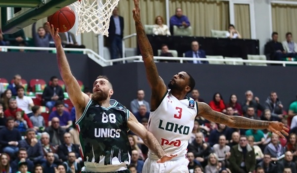 Quarterfinals Game 3: Kaimakoglou leads UNICS to semis