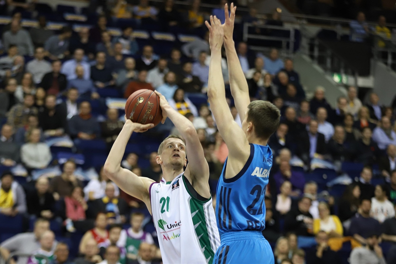 Adam Waczynski - Unicaja Malaga (photo Andreas Knopf - ALBA) - EC18