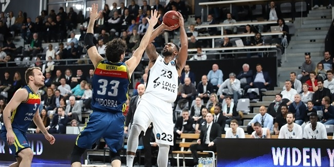 7DAYS EuroCup, Quarterfinals Game 3: LDLC ASVEL Villeurbanne vs. MoraBanc Andorra