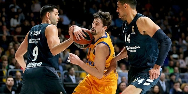 RS Round 26: Khimki Moscow Region vs. Real Madrid