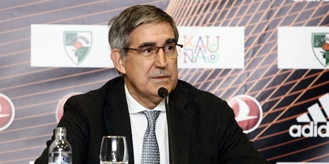 Jordi Bertomeu meets media in Lithuania