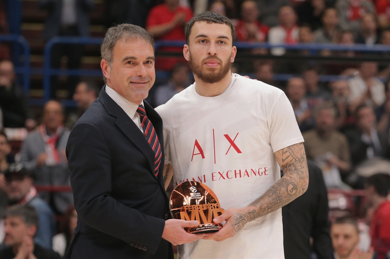 Mike James, February MVP - AX Armani Exchange Olimpia Milan - EB18