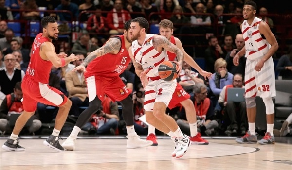 RS Round 26 report: James sparks Milan to sweep of Olympiacos