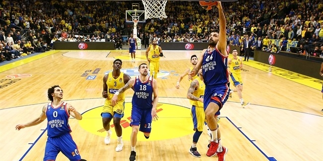 Defense – not offense – saw Efes past Maccabi