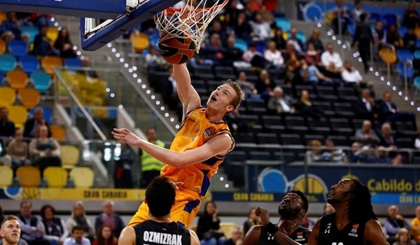 RS Round 26 report: Gran Canaria pounds Darussafaka to snap skid
