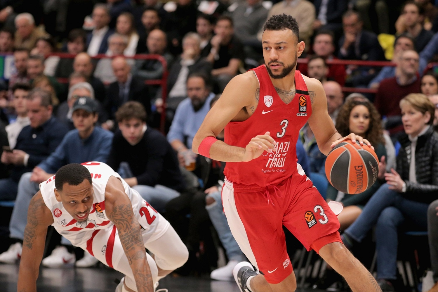 Nigel Williams-Goss - Olympiacos Piraeus - EB18