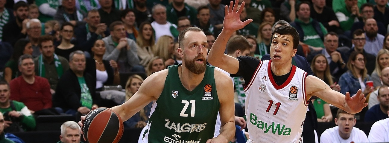 With its back to the wall, Zalgiris stood tall