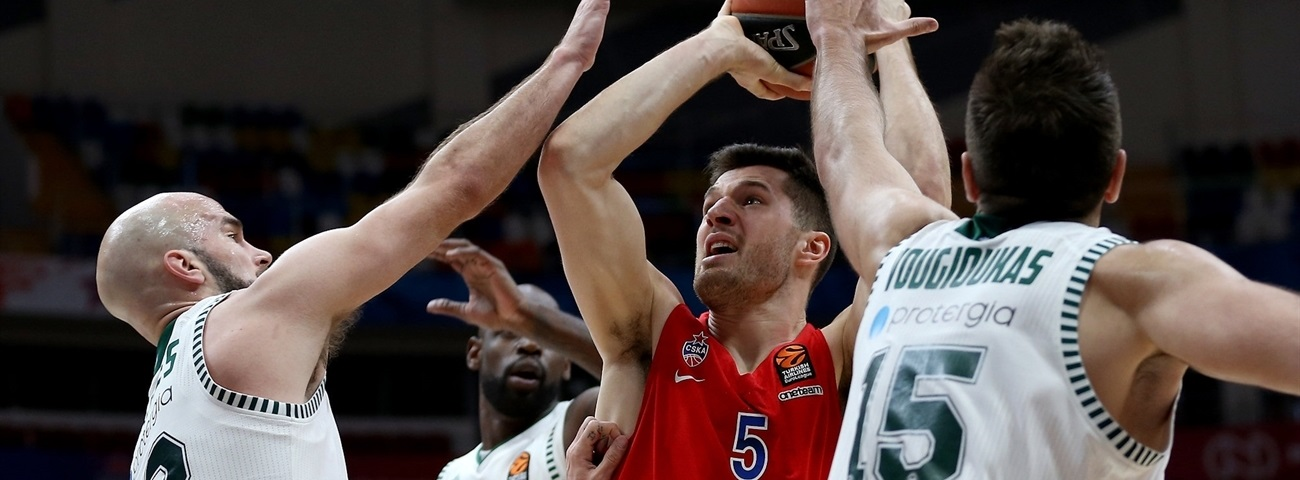 Alec Peters, CSKA: 'You got to leave it all out there'