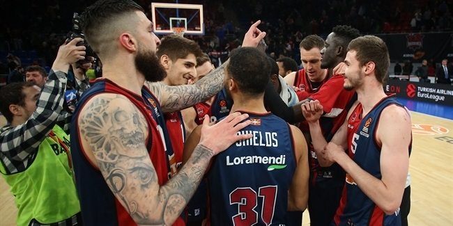 Baskonia's hard work earned its playoff berth