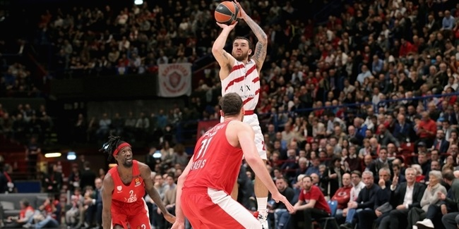 Round 26 MVP: Mike James, AX Armani Exchange Olimpia Milan