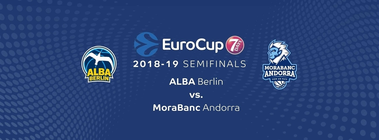 Semifinals breakdown: ALBA Berlin vs. MoraBanc Andorra