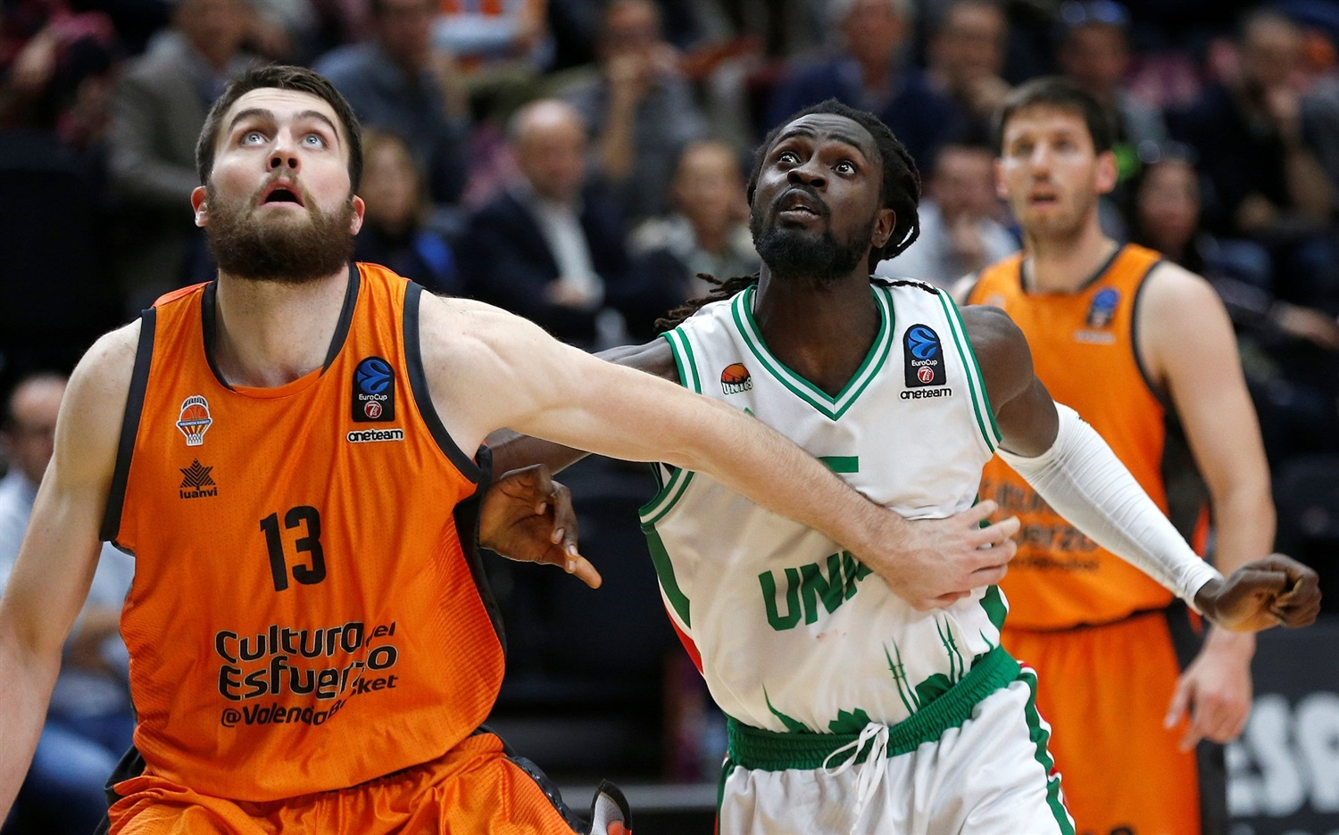 Maurice Ndour - UNICS Kazan (photo Miguel Angel Polo - Valencia) - EC18
