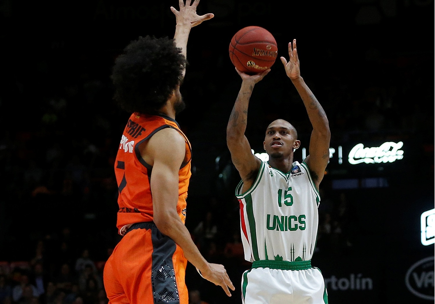 Jamar Smith - UNICS Kazan (photo Miguel Angel Polo - Valencia) - EC18