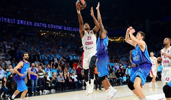 RS Round 27 report: Heroics by Higgins lift CSKA at Efes