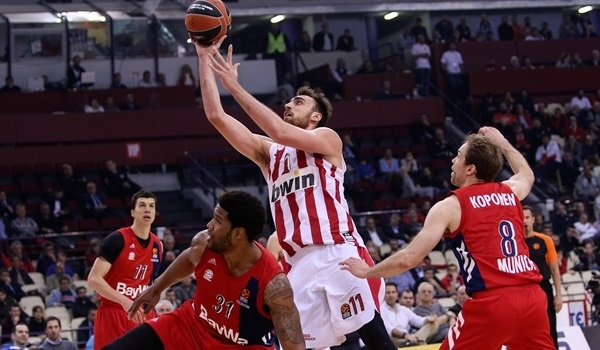 RS Round 27 report:  Olympiacos crushes Bayern for season sweep