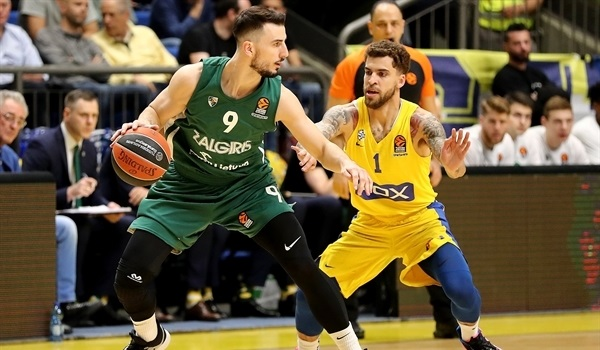 RS Round 27 report: Zalgiris bounces back to sink Maccabi