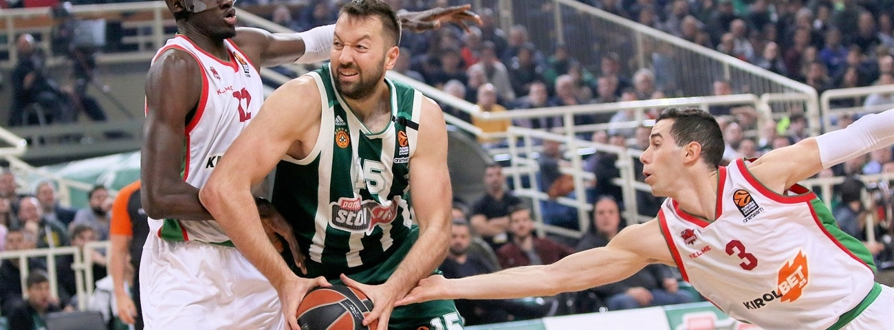 Panathinaikos renews veteran center Vougioukas