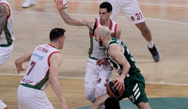 Panathinaikos escaped a Jekyll and Hyde night