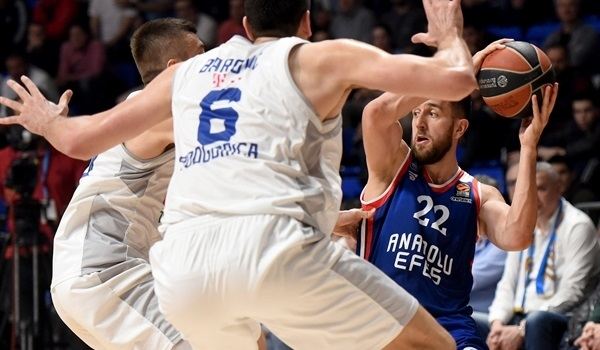 RS Round 28 report: Efes breezes past Buducnost to seal top-four finish
