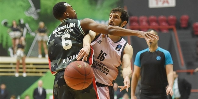 7DAYS EuroCup, Semifinals Game 2: UNICS Kazan vs. Valencia Basket