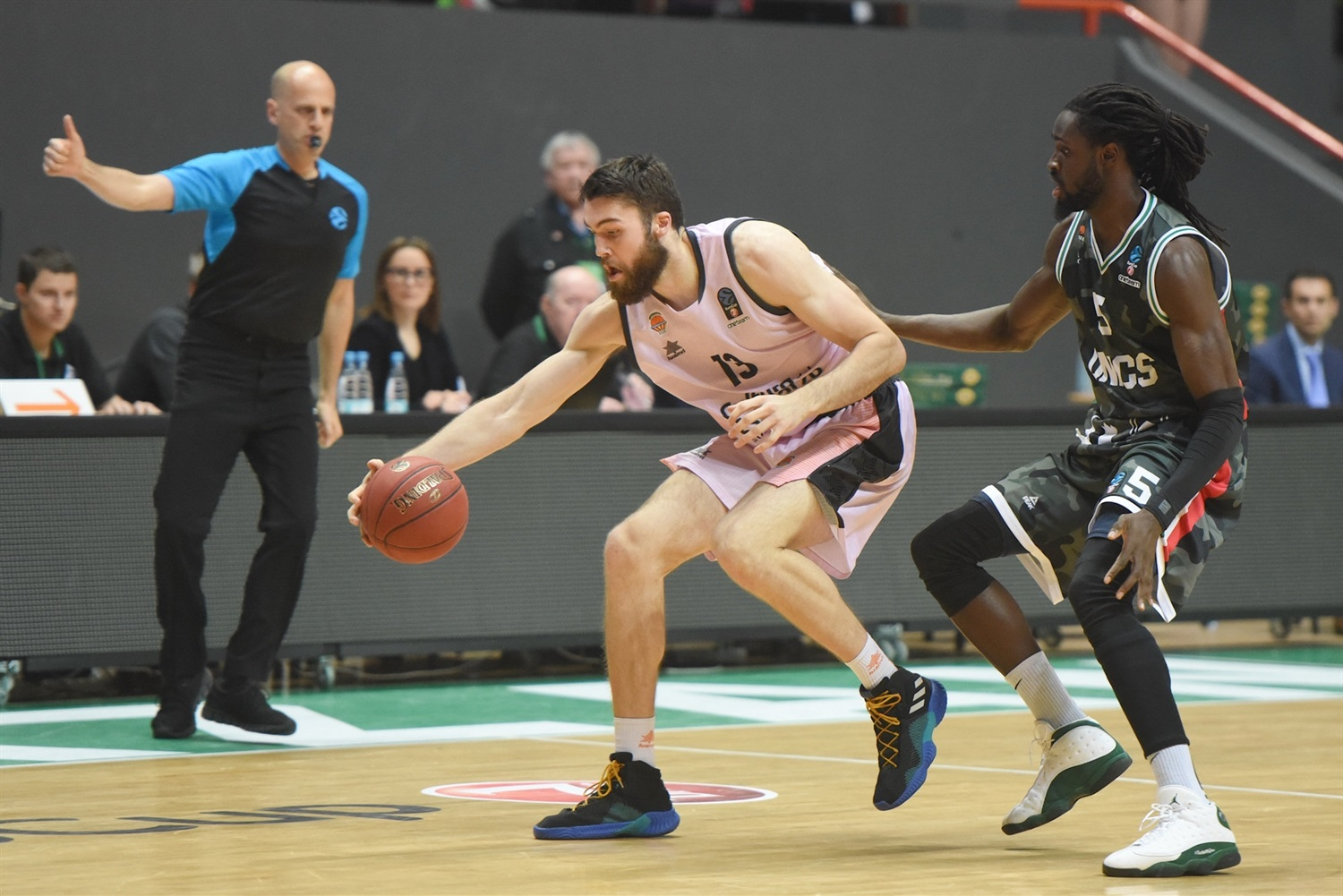 Mike Tobey - Valencia Basket (photo UNICS) - EC18