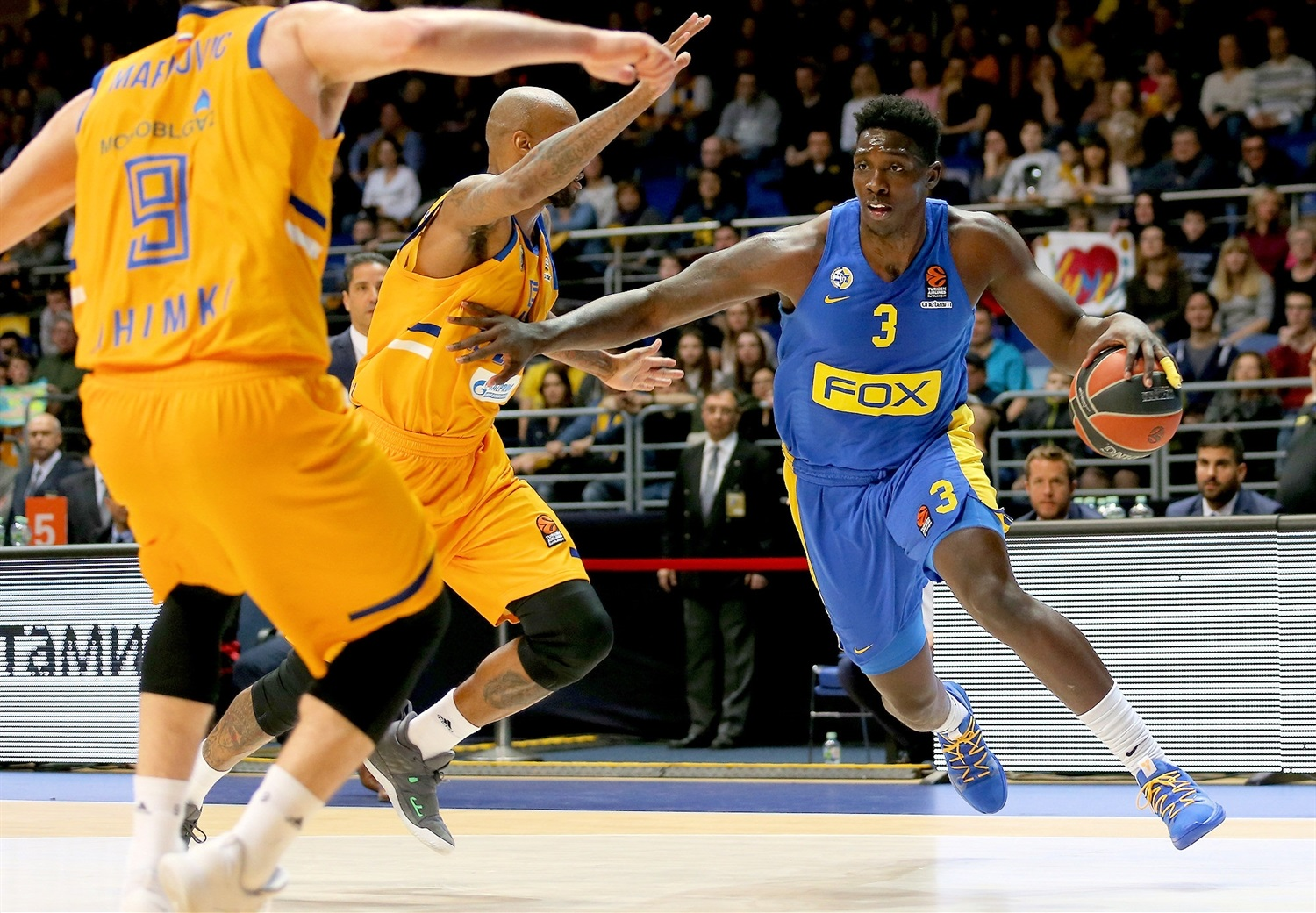 Johnny OBryant - Maccabi FOX Tel Aviv - EB18