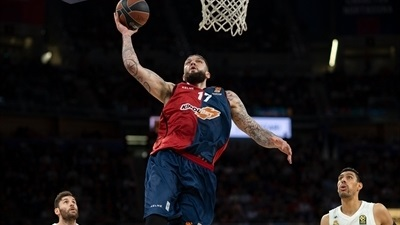 Baskonia sinks Madrid, inches towards playoffs