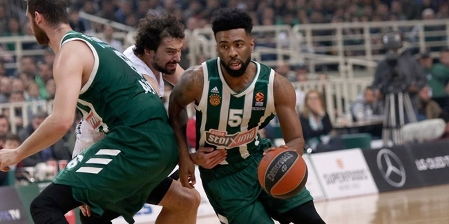 RS Round 29: Panathinaikos OPAP Athens vs. Real Madrid