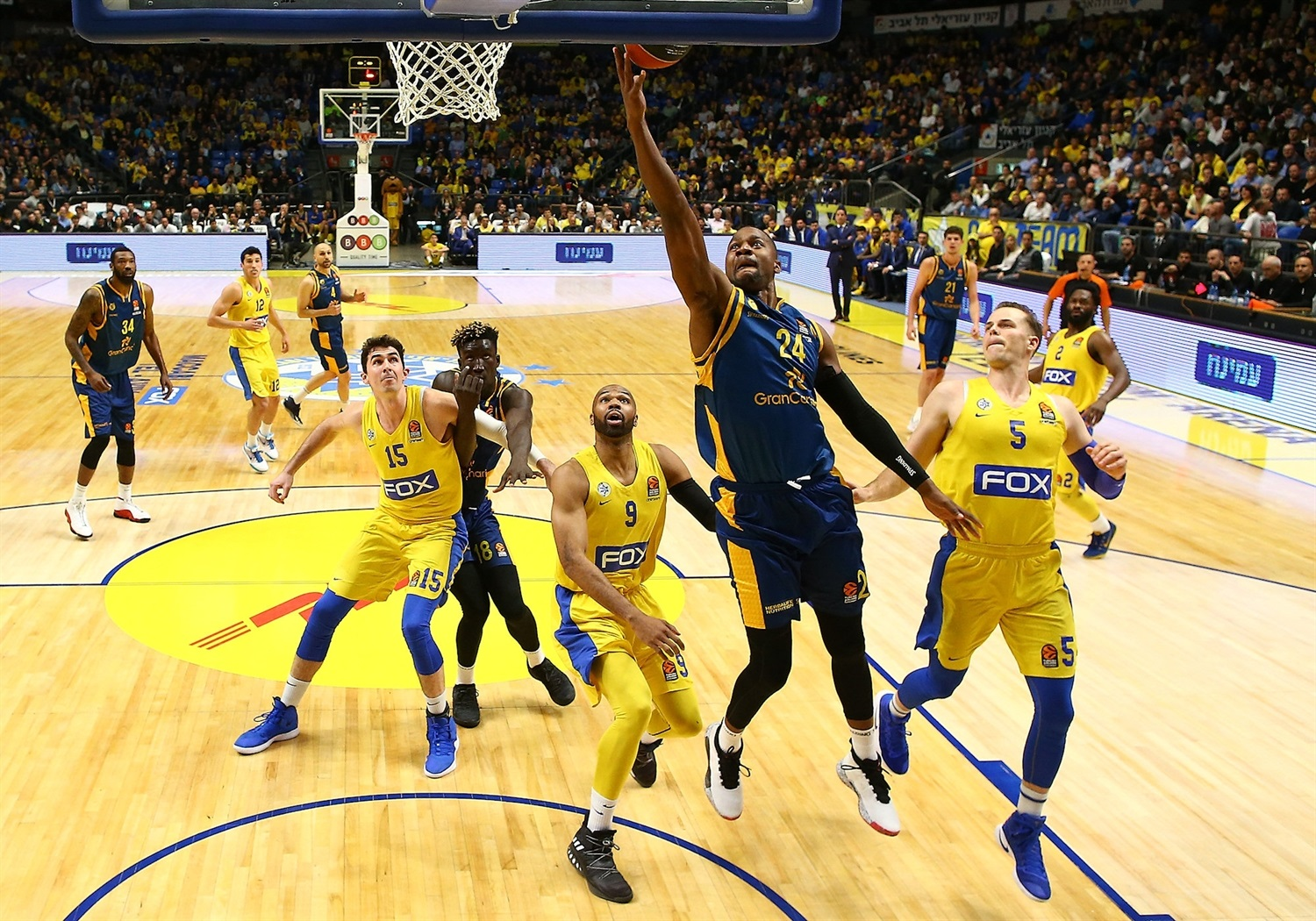 DJ Strawberry - Maccabi FOX Tel Aviv - EB18