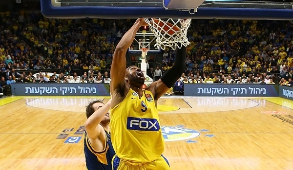 RS Round 29 report: Tyus stars to keep Maccabi alive