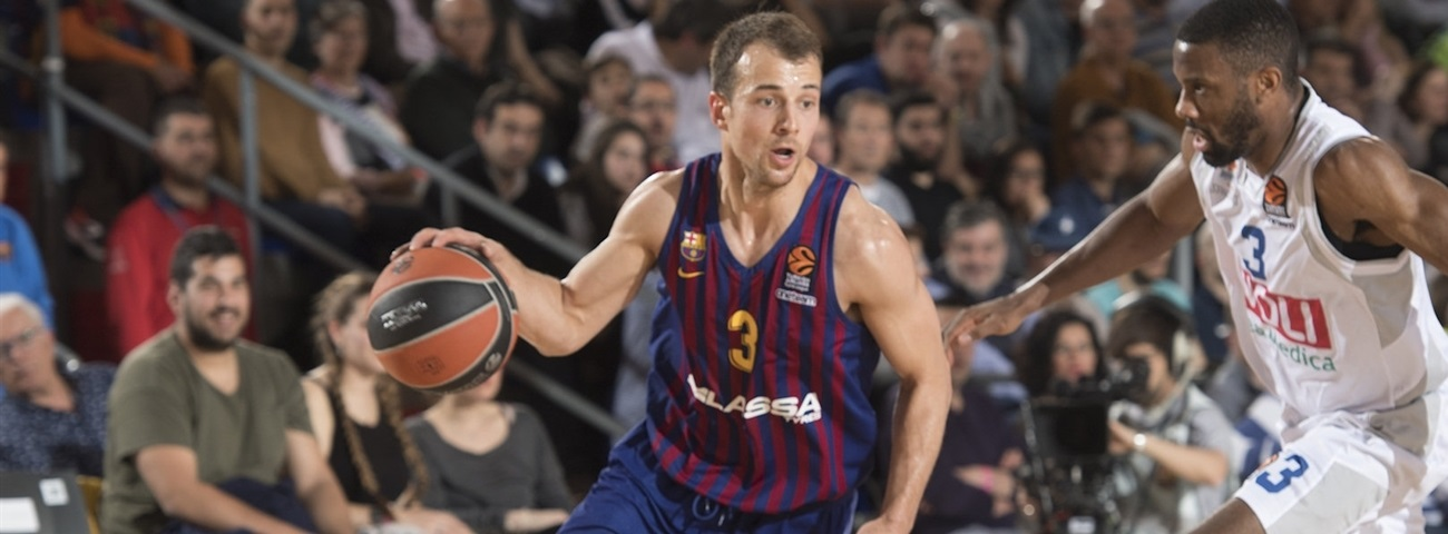 Barcelona's Pangos to miss start of season