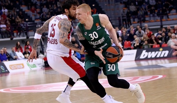 RS Round 29 report: Zalgiris rallies to conquer Piraeus, again