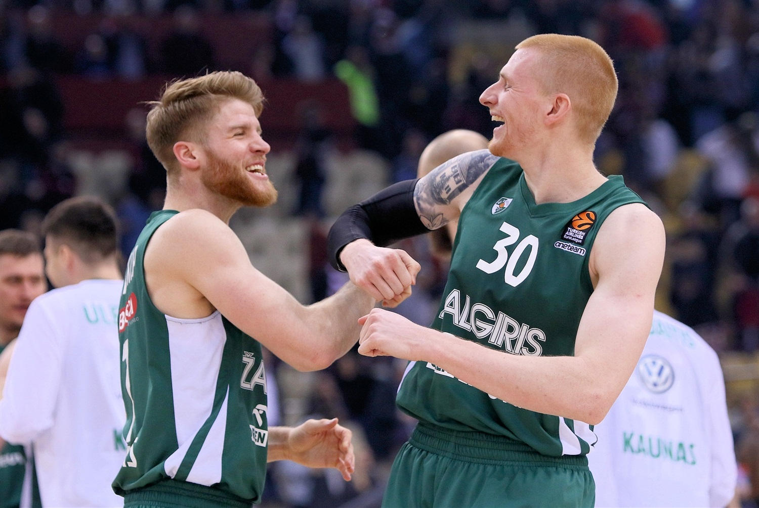 Thomas Walkup and Aaron White - Zalgiris Kaunas - EB18