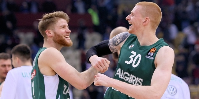Zalgiris continued reinventing ways to win