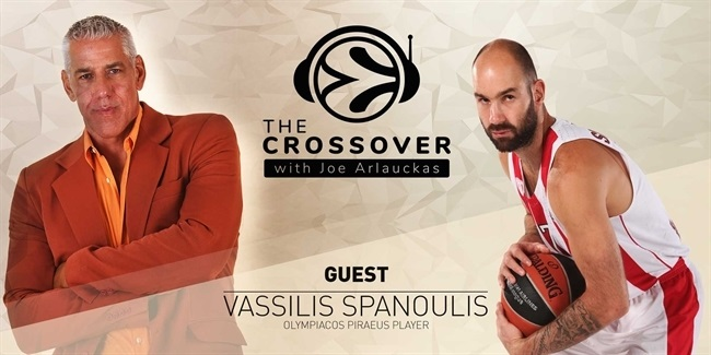 The Crossover podcast welcomes Vassilis Spanoulis
