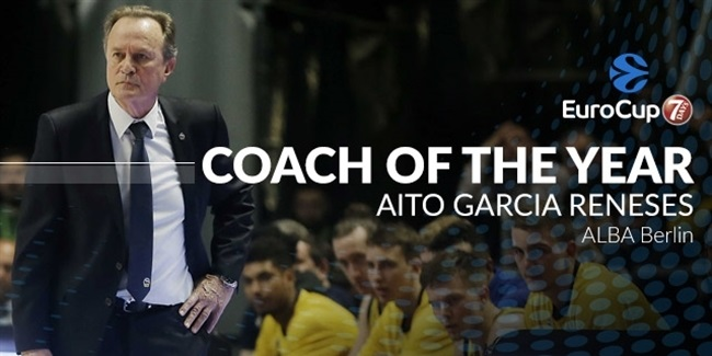 Coach of the Year: Aito Garcia Reneses, ALBA Berlin