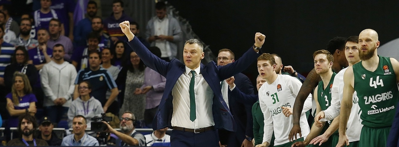 Character during winning streak carried Zalgiris into playoffs