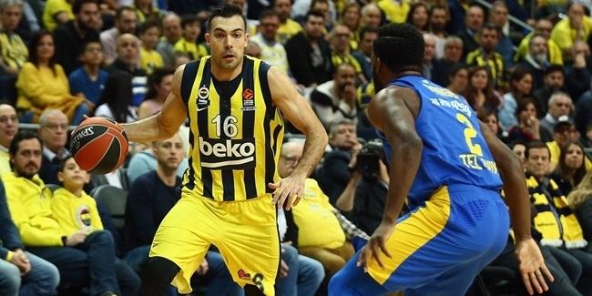 Sloukas closed Fenerbahce's record regular season right