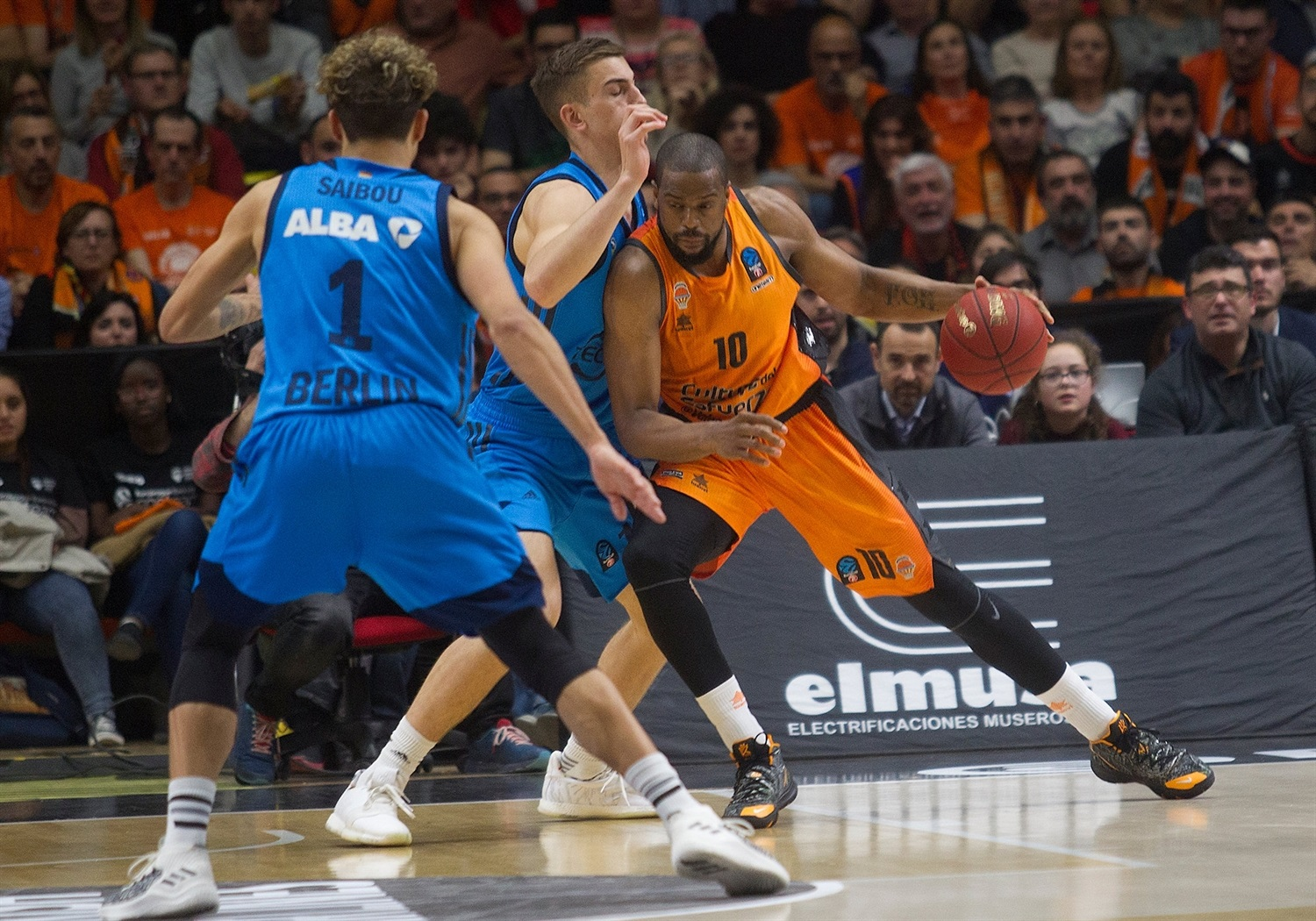 Will Thomas - Valencia Basket - EuroCup Finals 2018-19 - EC18