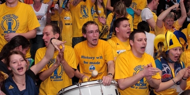ALBA fans, heroes of the 2010 finals