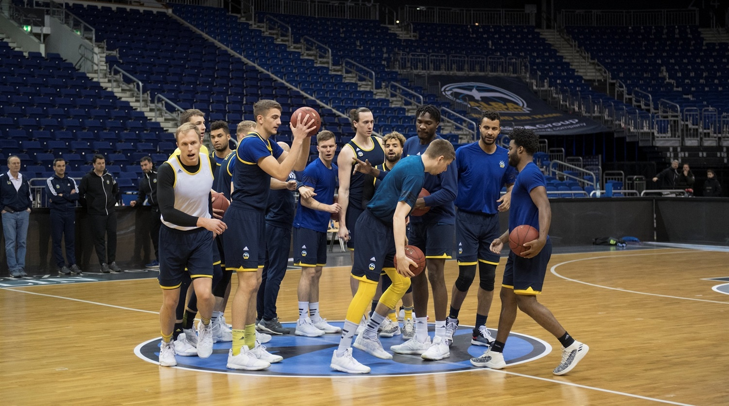ALBA Berlin practices - Finals Game 2 - EC18