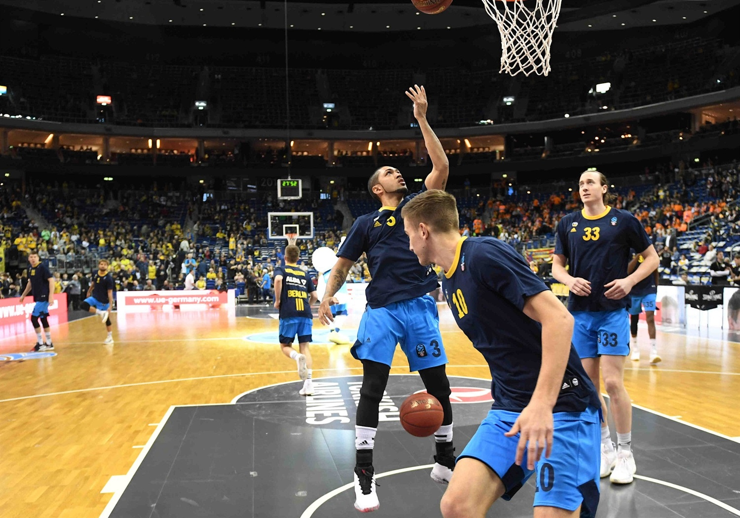 Peyton Siva - ALBA Berlin in pregame - Finals Game 2 - EC18