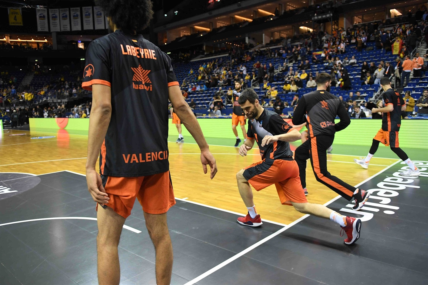 Valencia Basket in pregame - Finals Game 2 - EC18